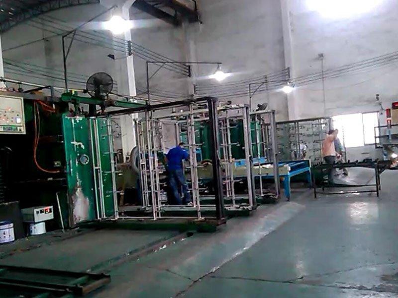double coating machine