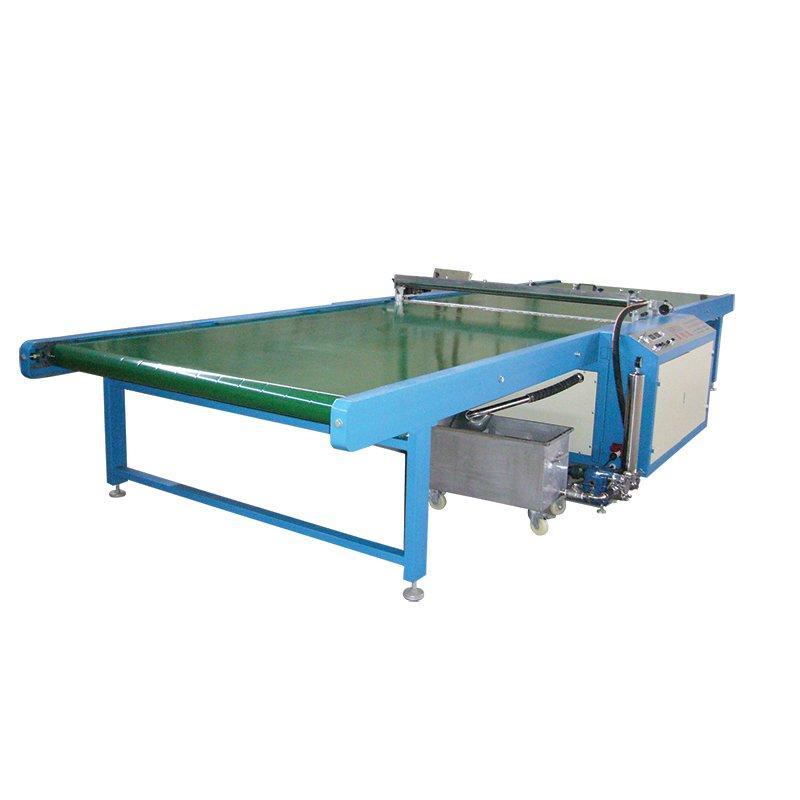 Horizontal Glass Painting Machine