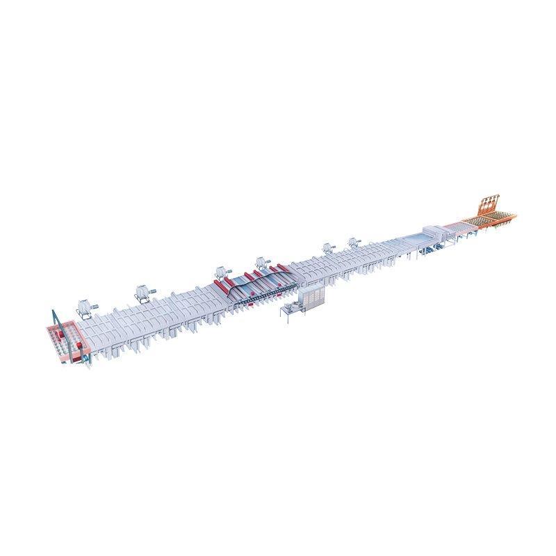 DJW Series Large –Scale Low – E Magnetron Sputtering Production Line