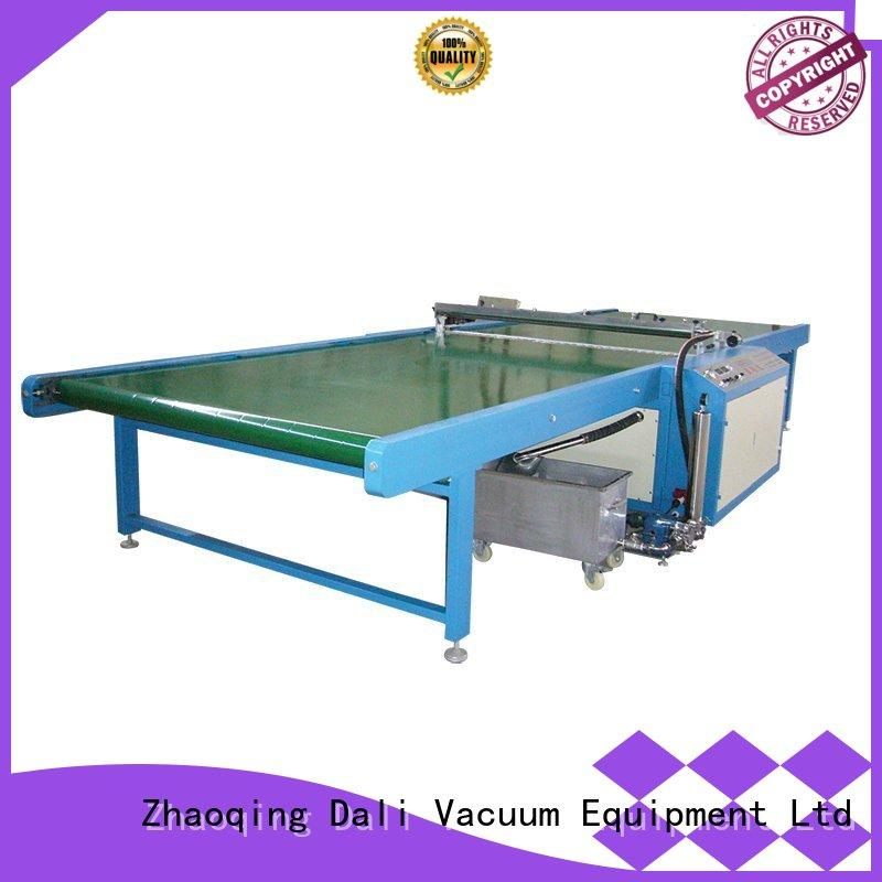 horizontal glass spray on glass coating painting machine Dali Brand