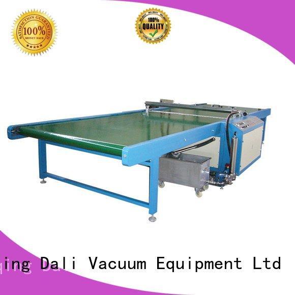 machine glass painting horizontal Dali spray on glass coating