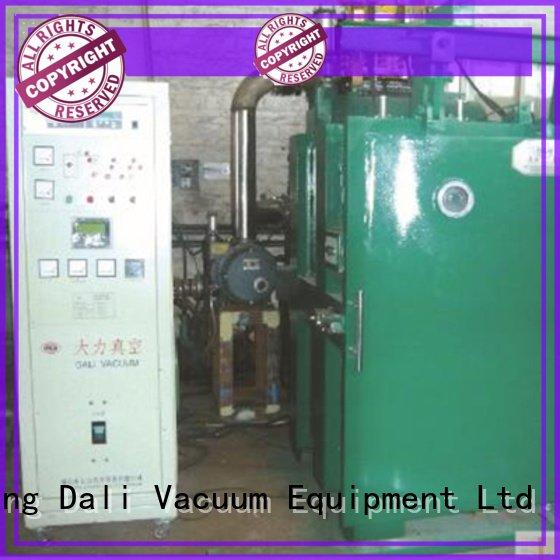 vacuum line chamber double evaporation Dali