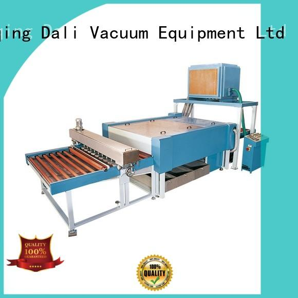 Dali glass glass washing machine price supplier for industry