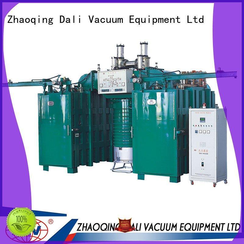 OEM vacuum chamber with pump double evaporation coating arc machine