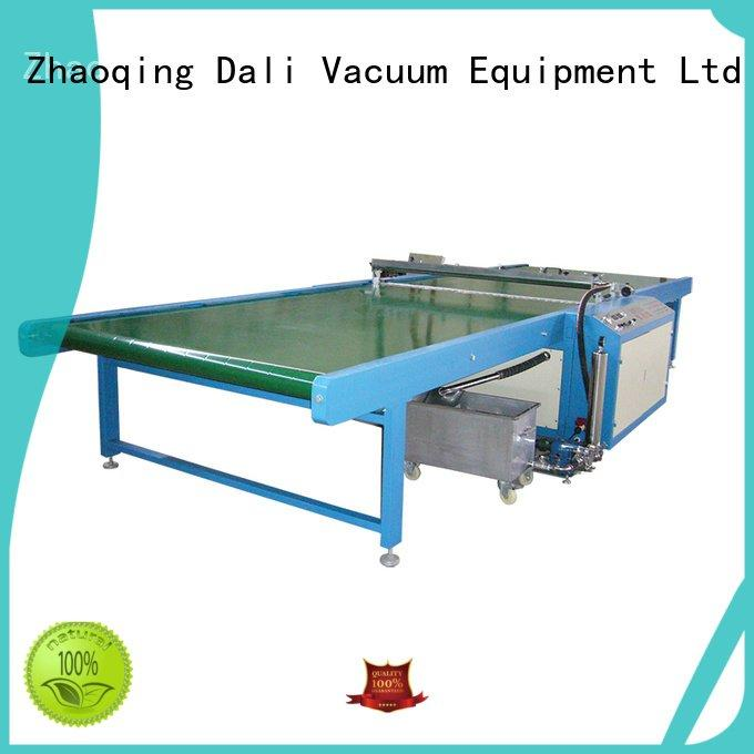 Dali Brand horizontal glass spray on glass coating machine painting