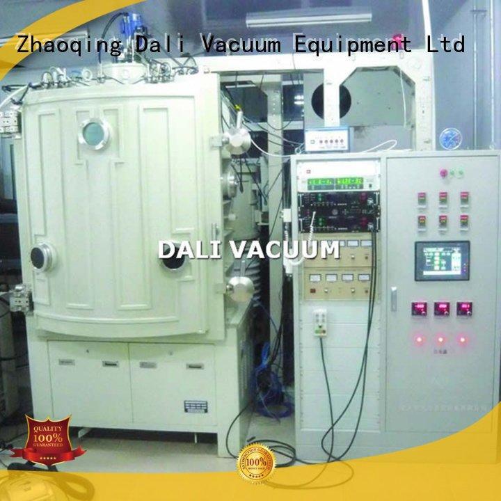 double evaporation double Dali vacuum line evaporation