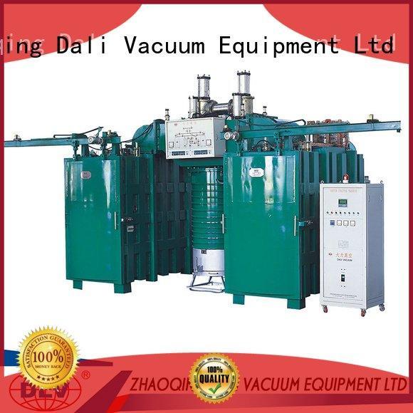 Hot vacuum chamber with pump vacuum coating saving Dali Brand