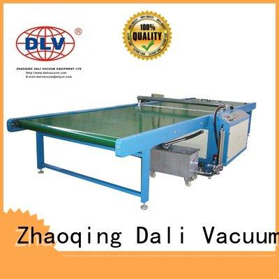 glass horizontal machine painting Dali coat paint