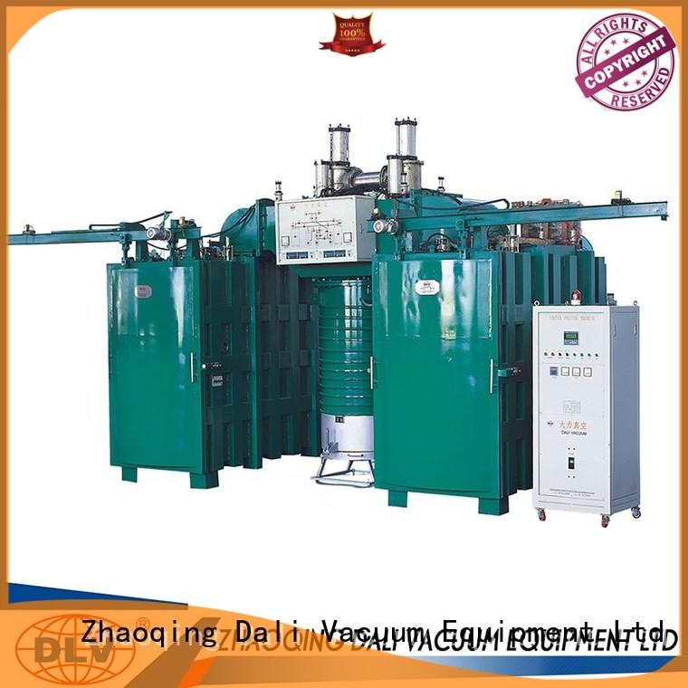 double evaporation vacuum chamber with pump powder Dali company
