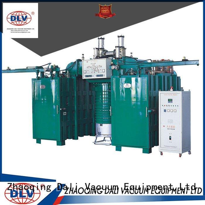 Hot vacuum chamber with pump evaporation arc machine chamber Dali