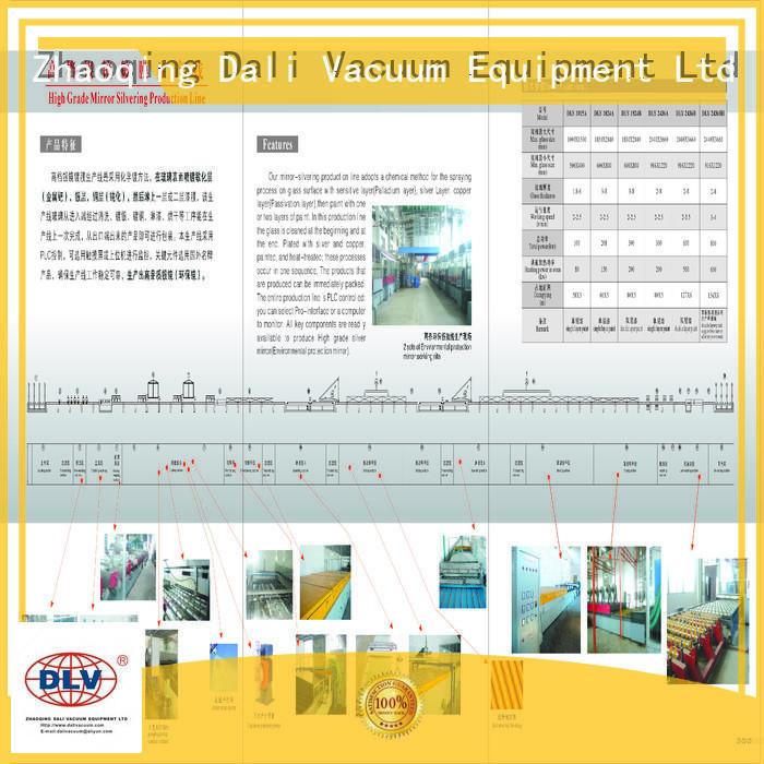 grade production silver mirror rearview Dali Brand company